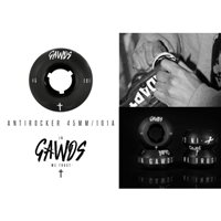RUEDA GAWDS ANTIROCKER 45MM/101A