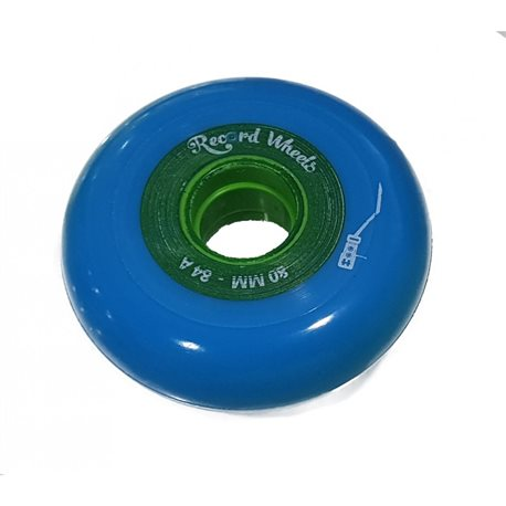 RUEDA RECORD 76MM BLUE